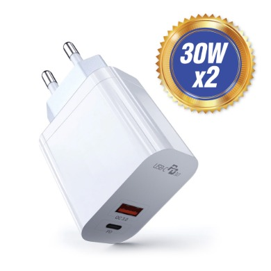 USB PD PPS 30WX2 듀얼 고속충전기 PQ303